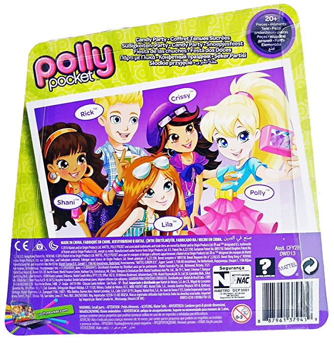 Amazon.com: Mattel Polly Pocket – Candy Party (dwd13) por ...