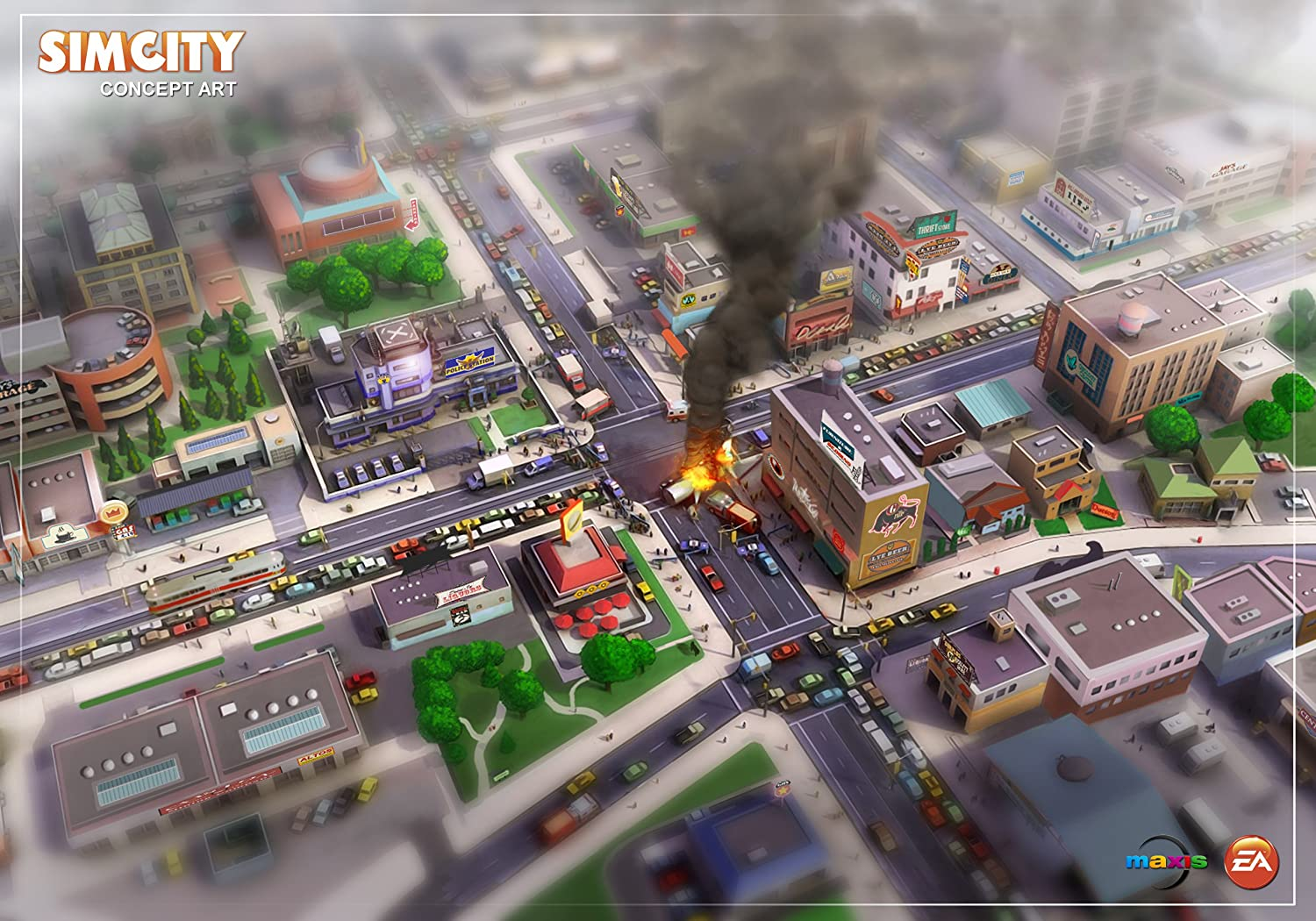 Amazon com: SimCity - Standard [Online Game Code]: Video Games