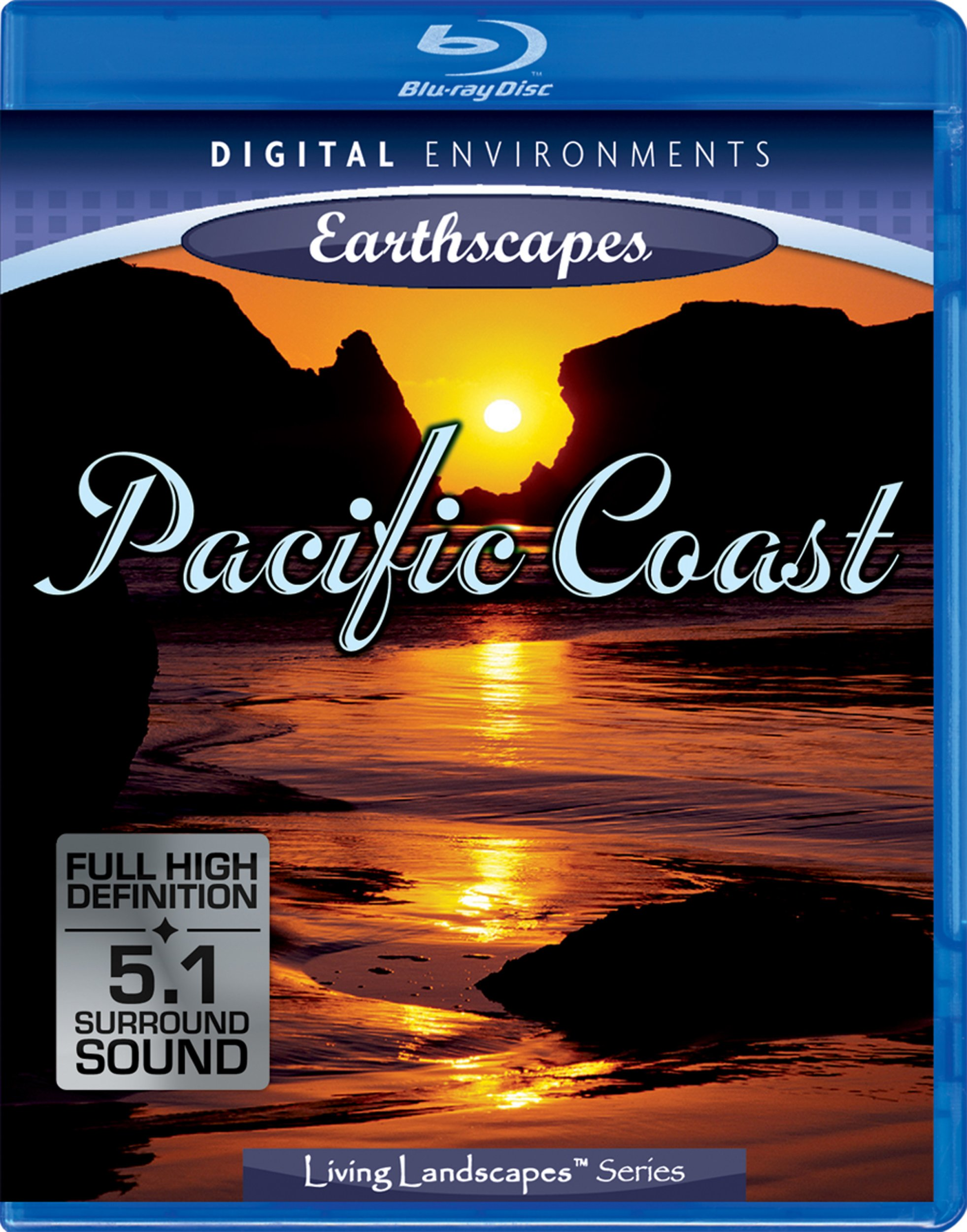 NatureVision TV's Pacific Coast [Blu-ray] by Victor Multimedia