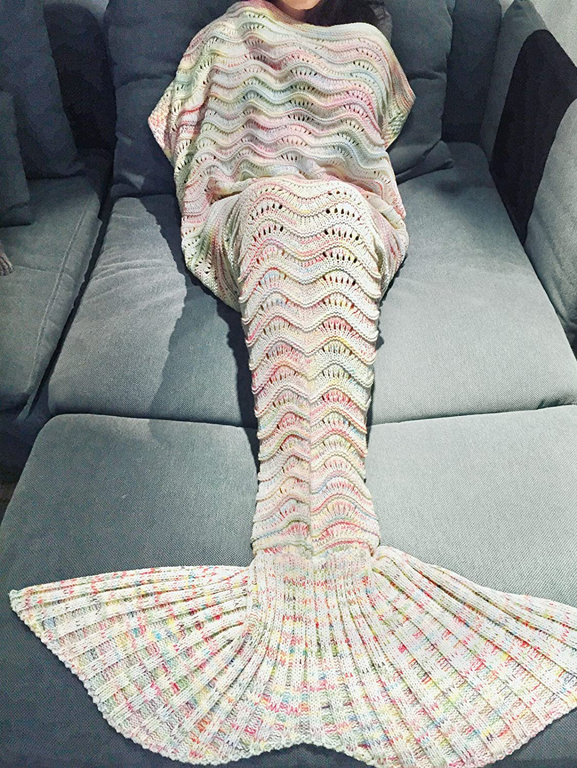 Top 10 Best Mermaid Tail Blankets (2020 Reviews & Buying Guide) 9