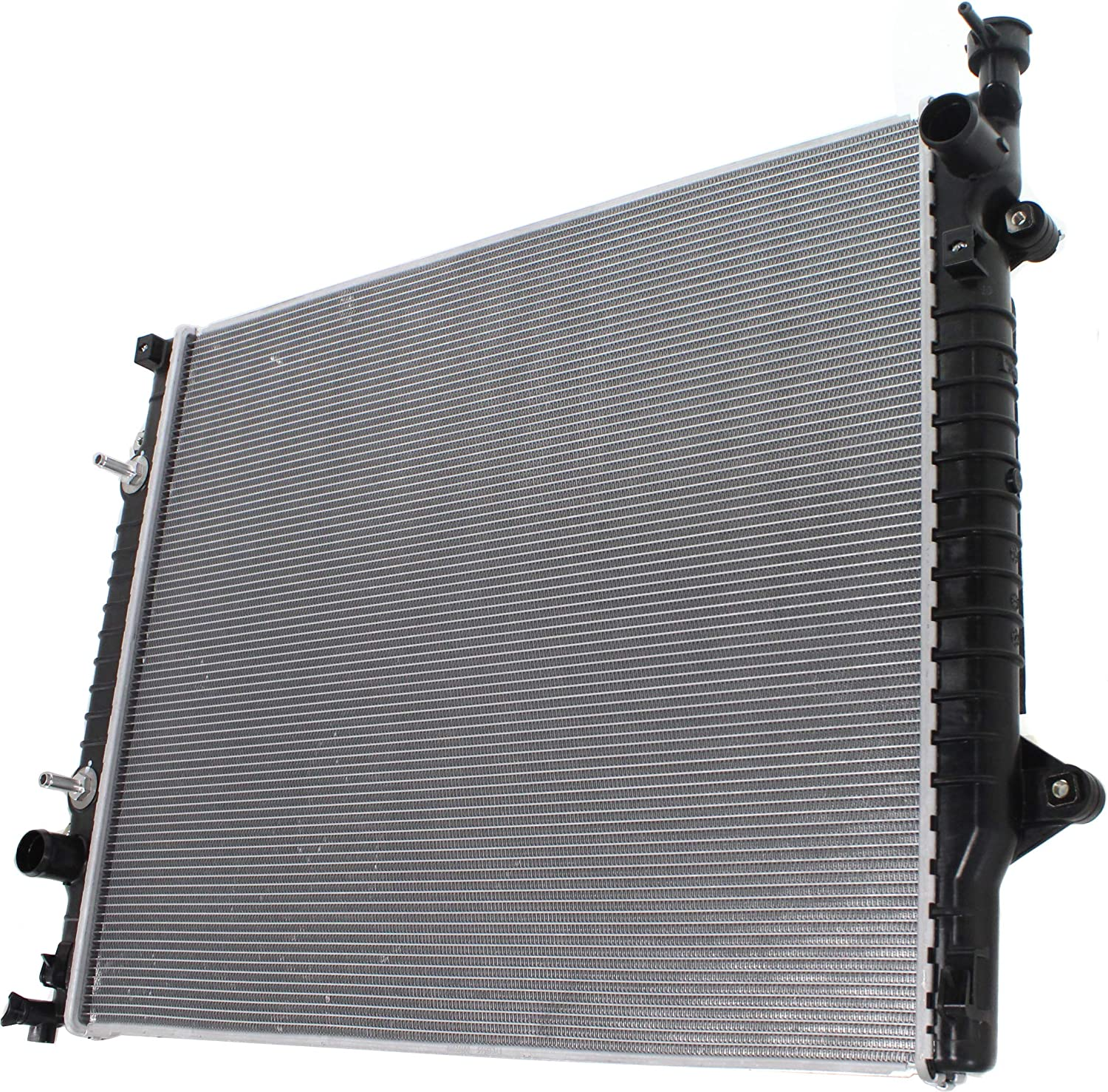 Aftermarket Radiator Compatible with 2016-2018 Toyota Tacoma 3.5L Engine Automatic//Manual Transmission