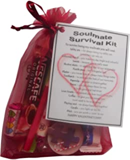 SMILE GIFTS UK Soulmate Valentines Survival Kit Gift Great Novelty Present For Day