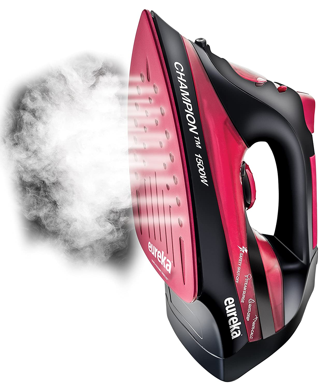 Amazon.com: Eureka ER15001 Champion 1500-Watt Micro Steam Iron ...