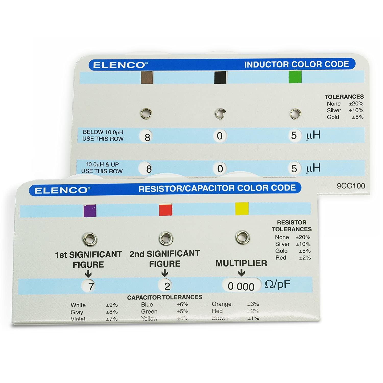 Elenco  Resistor//Capacitor Combo kit RCK-465 Elenco Electronics Inc