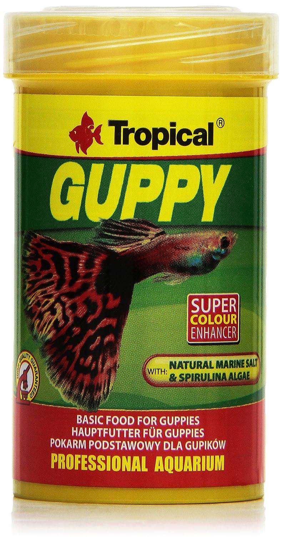 TROPICAL Guppy Nourriture pour Aquariophilie 100 ml S-068-1