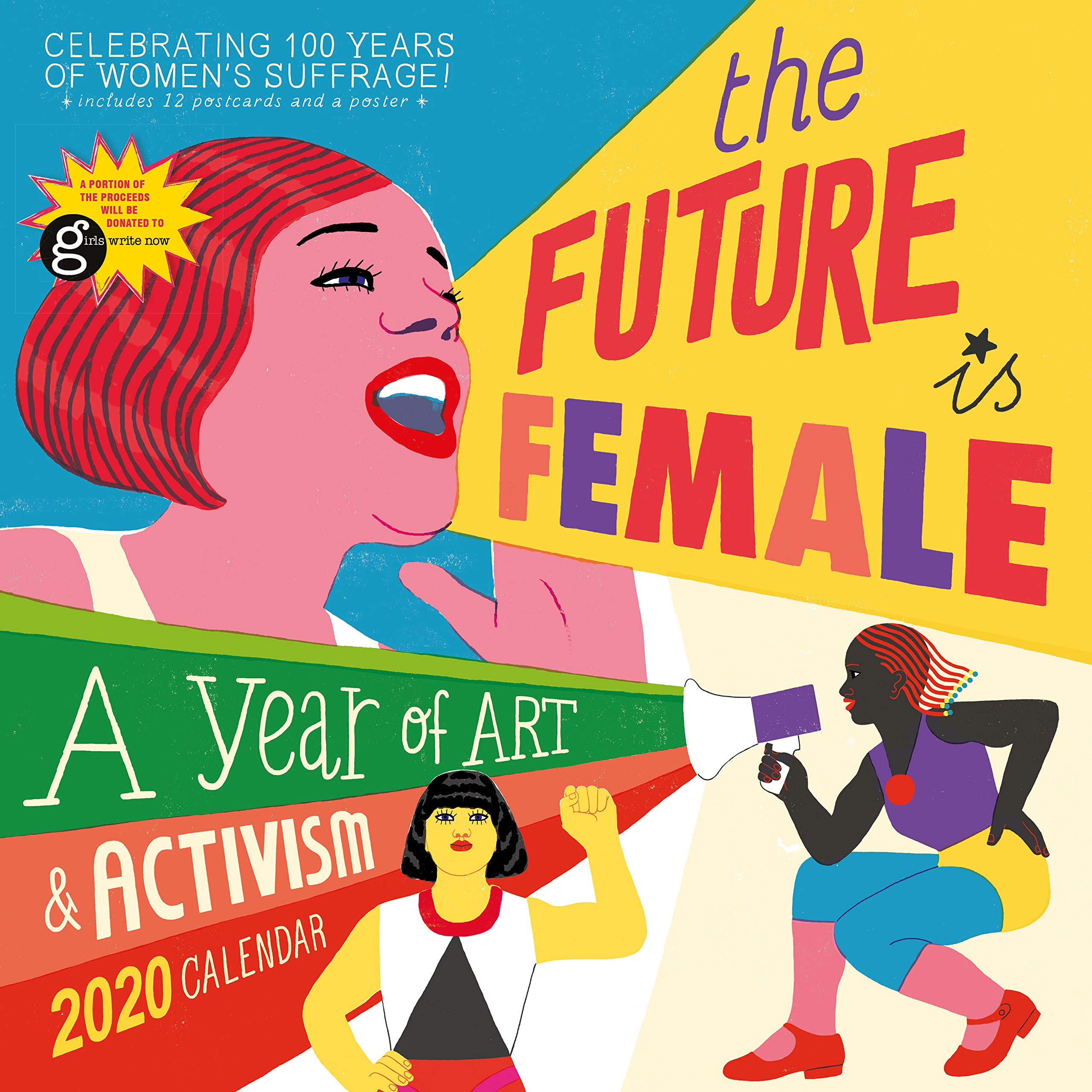 Can Calendrier 2020.The Future Is Female Wall Calendar 2020 Workman Publishing
