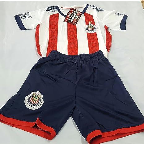 27b311f827691 Amazon.com : New! Chivas de Guadalajara Short and Jersey 2 Pc Set ...