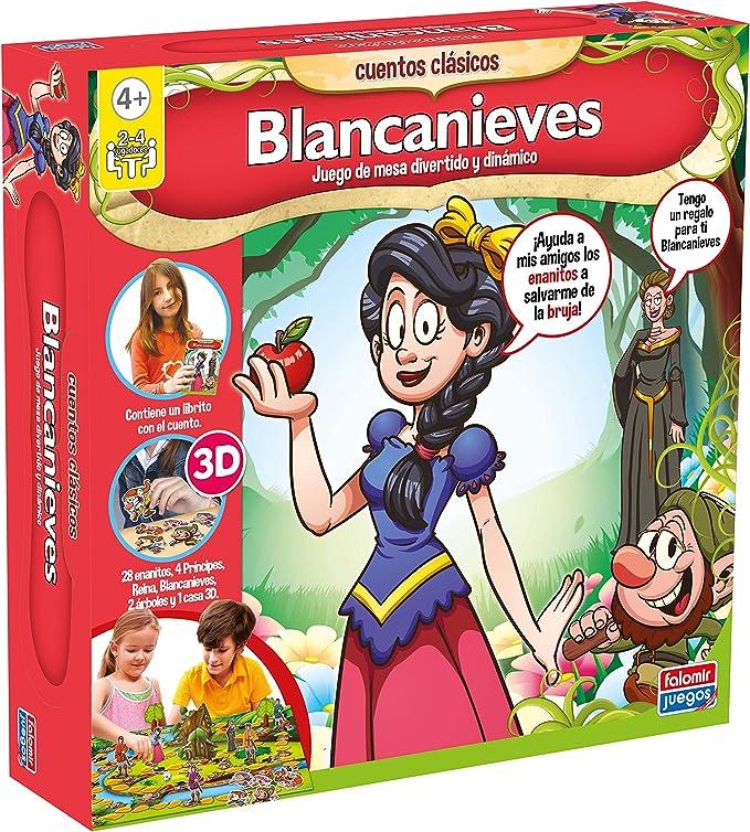 Falomir - Blancanieves, Juego de Mesa (25016): Amazon.es: Juguetes y juegos