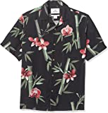 28 Palms Men's Relaxed-Fit 100% Silk Tropical Hawaiian