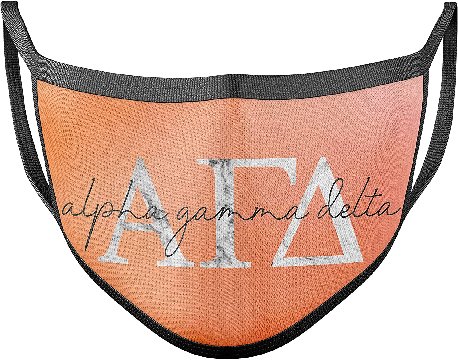Ombre Divine 9 Sorority and Fraternity Face Masks