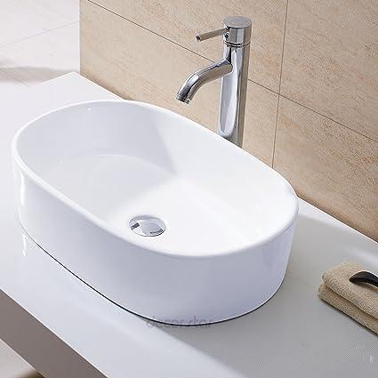 Decor Star CB 002 Bathroom Porcelain Ceramic Vessel Vanity Sink Art Basin