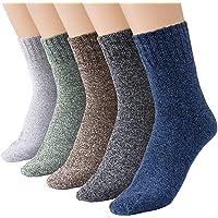 Comius Sharp Calcetines de Lana, 5 pares de Calcetines Térmicos, Calcetines Mujeres Calcetines de Invierno Caliente…
