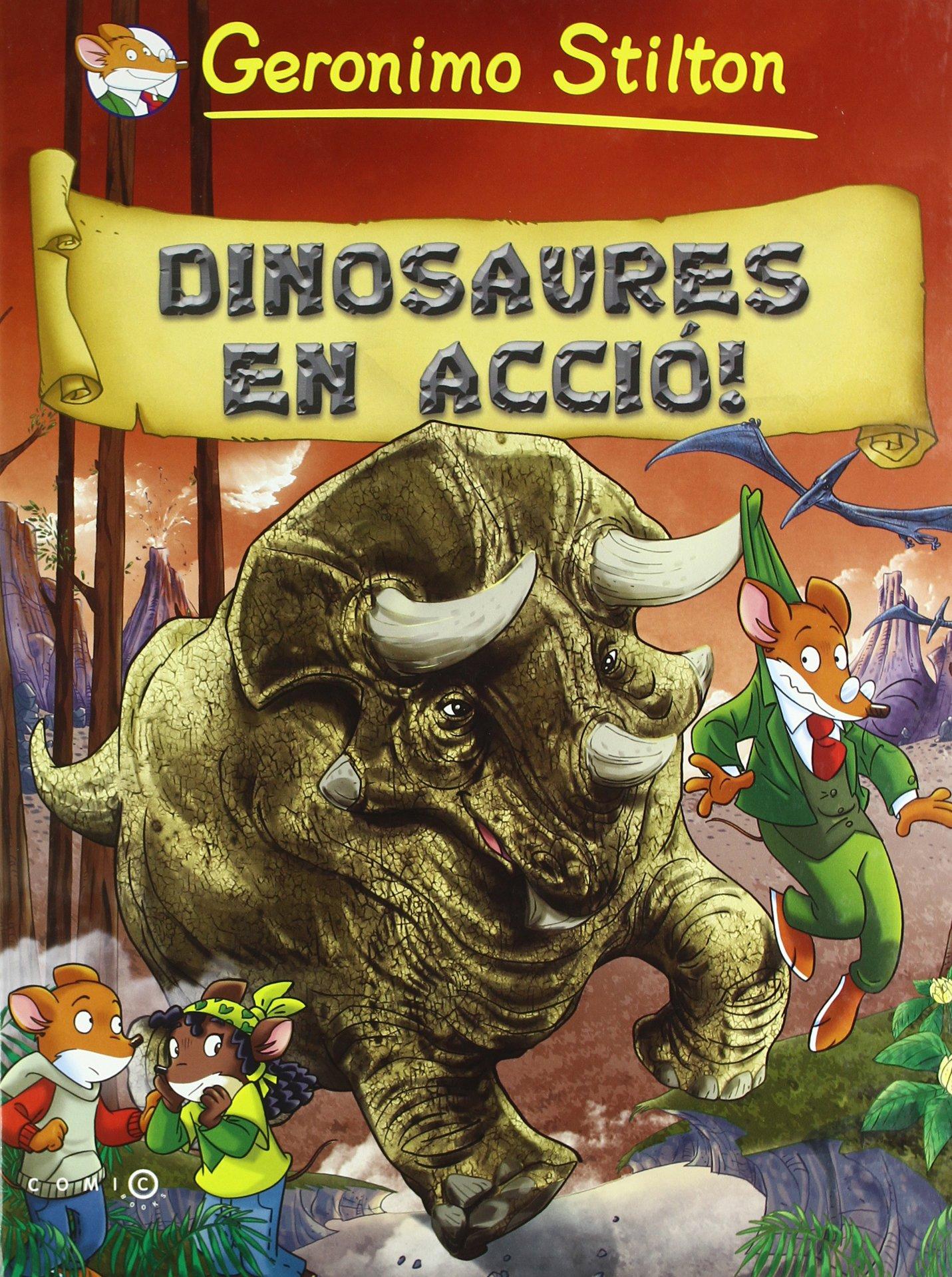 Dinosaures en acció! (Comic Books) (Catalán) Tapa dura – 24 feb