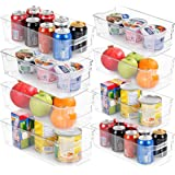 Set of 8 Pantry Organizers-Includes 8 Organizers (4 Large & 4 Small Drawers)-Organizers for Freezers, Kitchen…