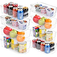 Utopia Home Set of 8 Pantry Organizers-Includes 8 Organizers (4 Large & 4 Small Drawers)-Organizers for Freezers…