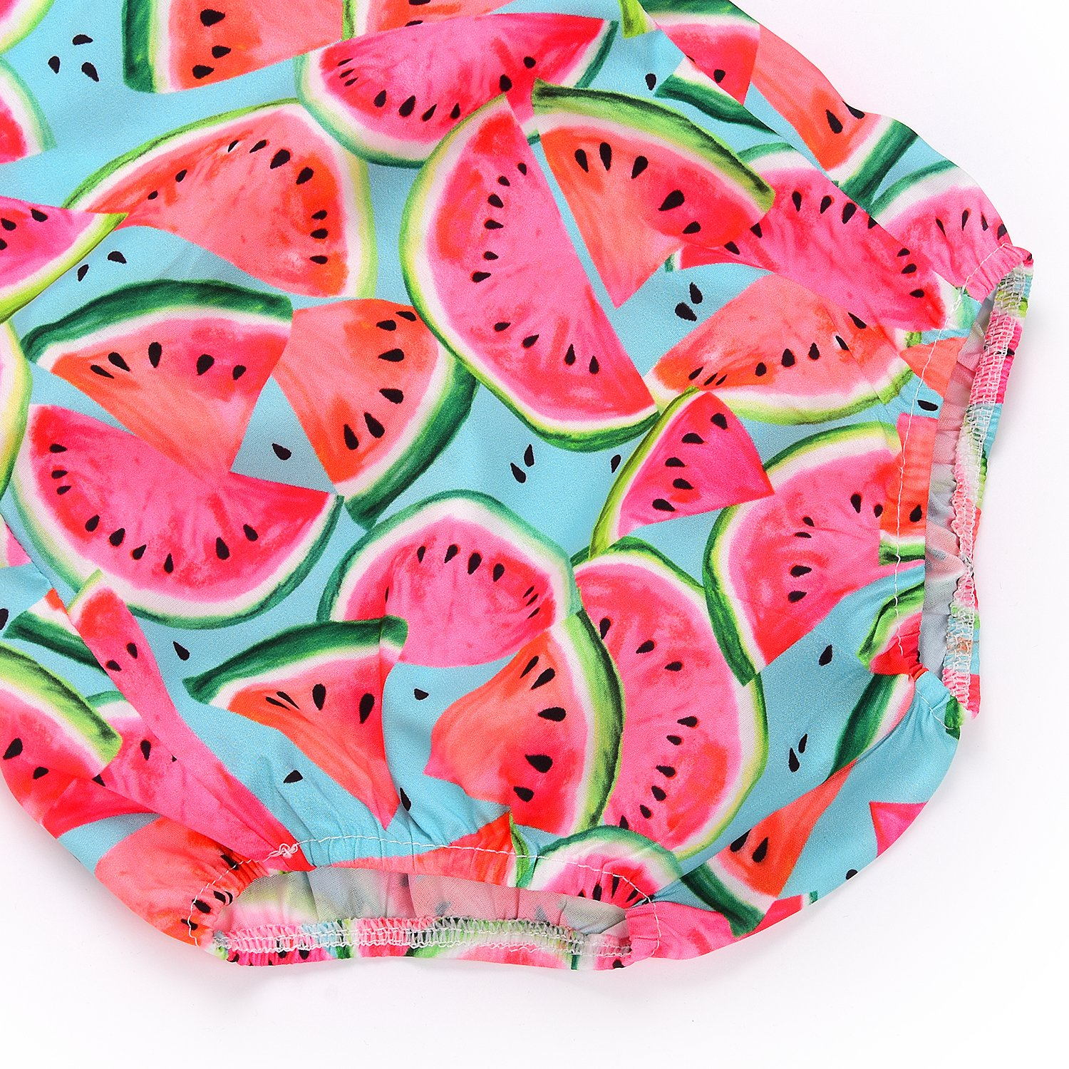 Wang-RX Toddler Baby Kids Girls Summer Watermelon Rompers ...
