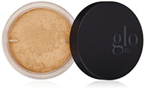 Glo Skin Beauty Loose Base , Golden Light , Illuminating Loose Mineral Makeup Powder Foundation , Dewy Finish , 9 Shades