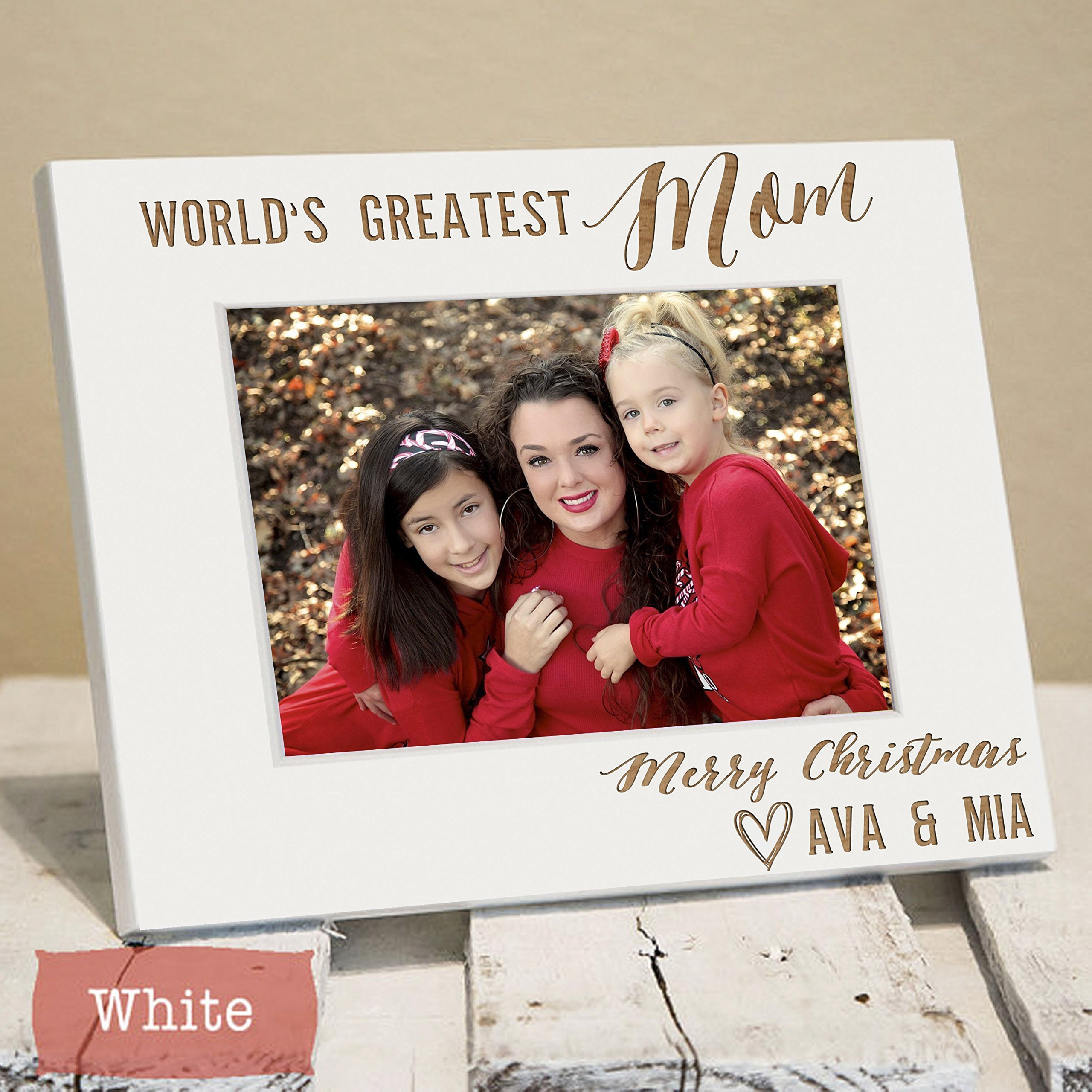 Mothers Day Gift - Mothers Day Frame - First Mothers Day - Personalized Mommy Picture Frame - Mom Gift - Mom Picture Frame