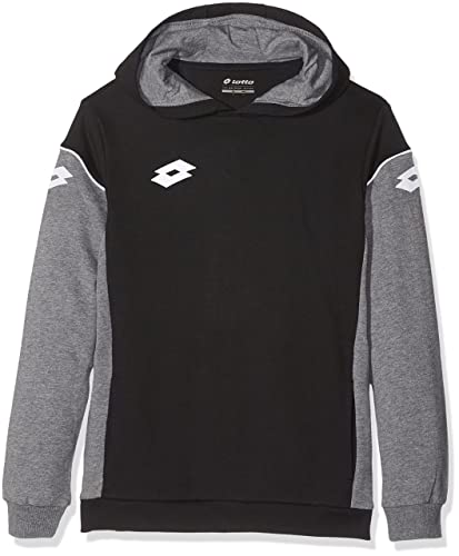 Lotto Sweat Stars EVO FT HD Jr R9773 - Sudadera para niño, Color Negro, Talla S: Amazon.es: Zapatos y complementos