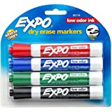 Expo Low Odor Chisel Point Dry Erase Marker Pack