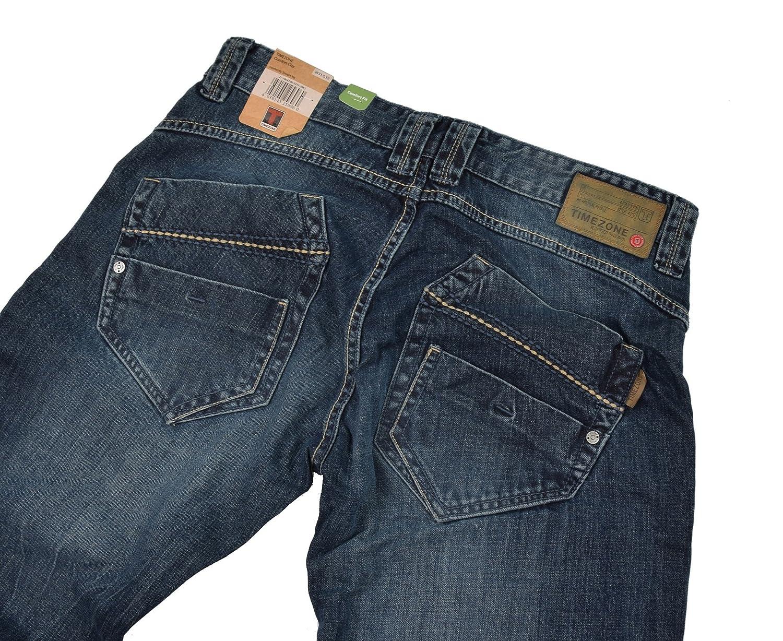 Timezone Herren Jeans Clay 3983 Urban Indigo Wash Cargo Worker