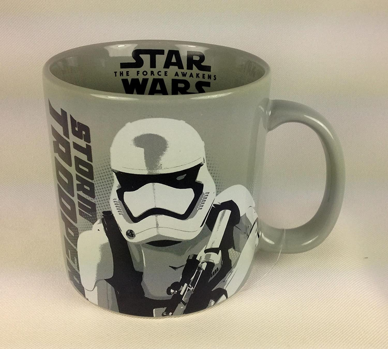 Star Wars The Force Awakens Stormtrooper Ceramic Mug brand new