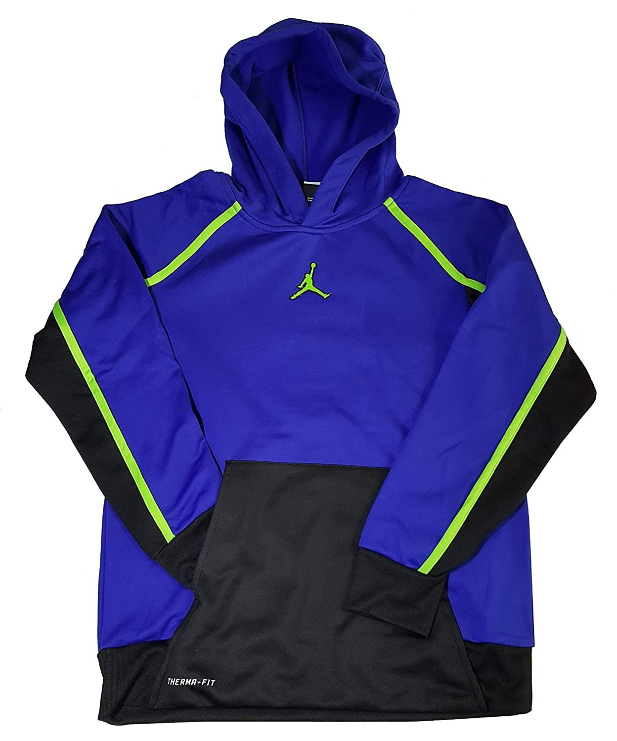 ea81e049e071f4 He ll love warm-ups in the Jordan AJ Victory Therma-FIT Hoodie. Indoors or  outside