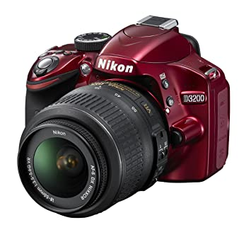 Nikon D3200 18-55 VR Kit - Cámara Digital (24,2 MP, SLR Camera Kit ...