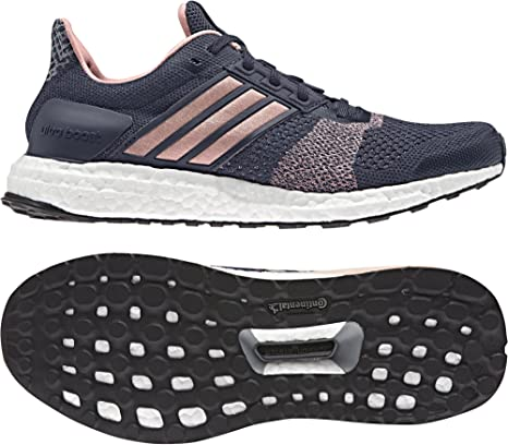 adidas Ultra Boost st w Zapatillas de Running para Mujer, Gris (GRIMEDSUABRIMaruni)