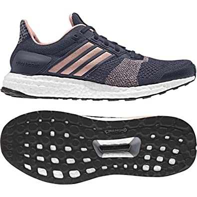 adidas Ultra Boost ST Women s Running Shoes - SS17-6 - Navy Blue ae1cb5c3b95