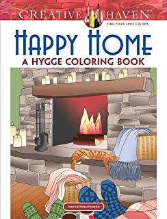 Creative Haven Happy Home A Hygge Coloring Book Adult