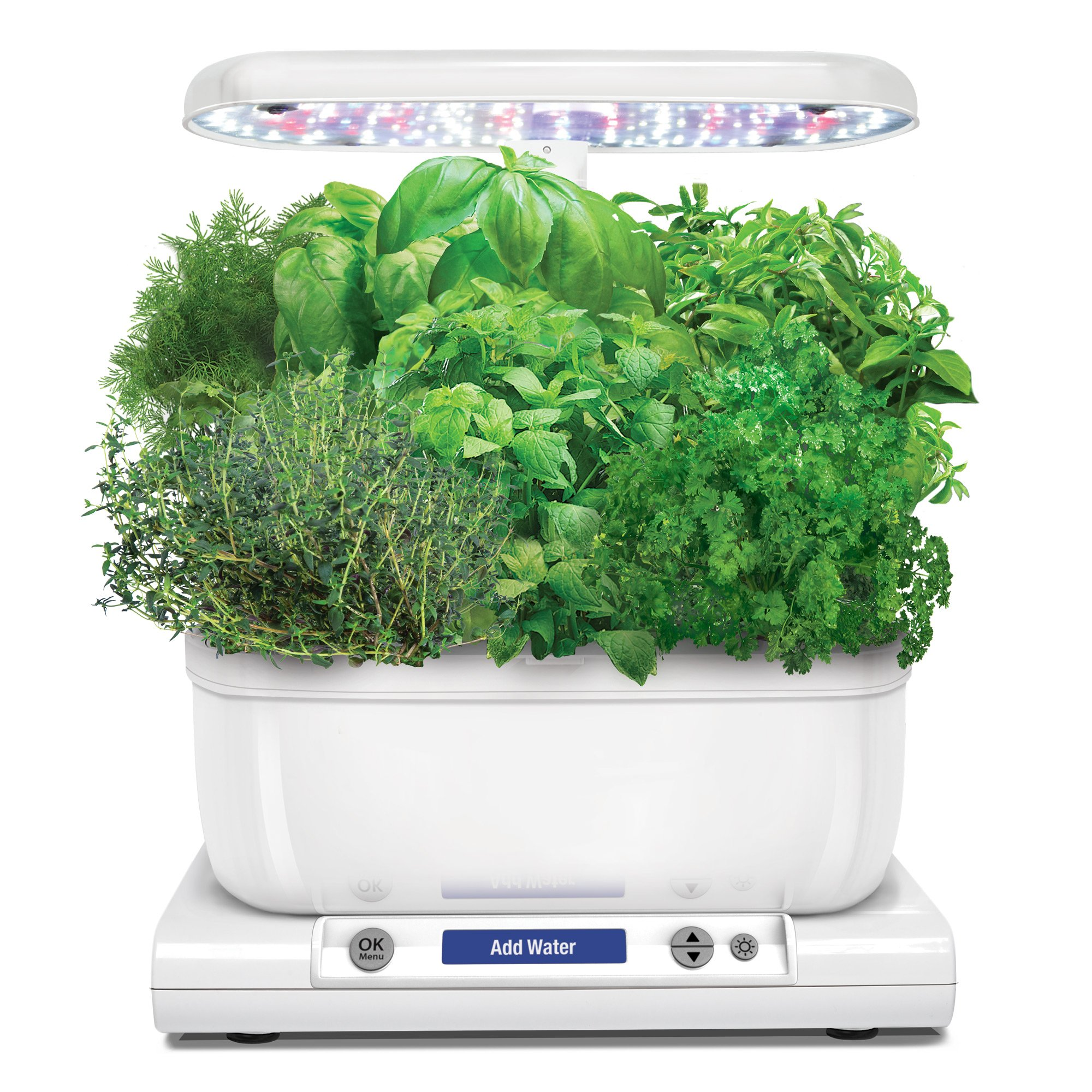 AeroGarden Harvest with Gourmet Herb Seed Pod Kit, White by AeroGrow