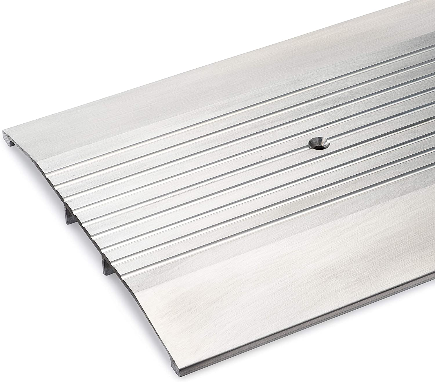 White Corrugated Threshold 3 1//4 Wide x 3//4 Tall 3 FT