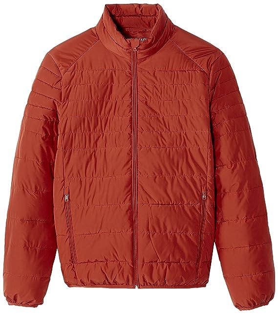 Celio JUNEW, Chaqueta para Hombre, Naranja (Orange 450) M