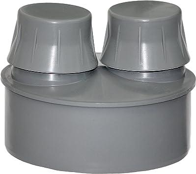 Abwasser Rohrbelüfter Ø110 Belüftungsventil HT KG Rohre