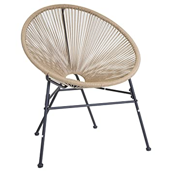 charles bentley garden furniture retro rattan lounge conservatory single chairs natural - Garden Chairs