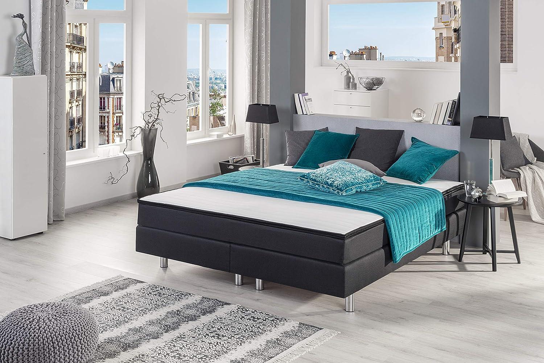 Foc GmbH - Juego de cama con colchón de muelles y tope para ...