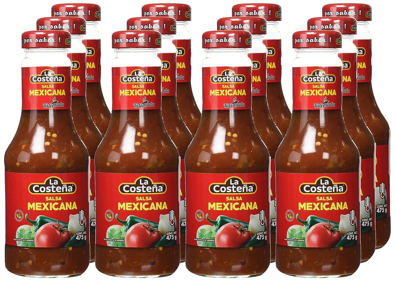 La Costeña Salsa Casera Roja - Paquete de 12 x 475 gr - Total: 5700 gr: Amazon.es: Alimentación y bebidas