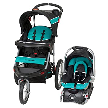 14f86bd95aaab Amazon.com : Baby Trend Expedition Jogger Travel System, Tropic : Baby