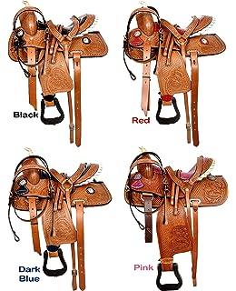 ME Enterprises Premium Leather Western Barrel Racing Horse