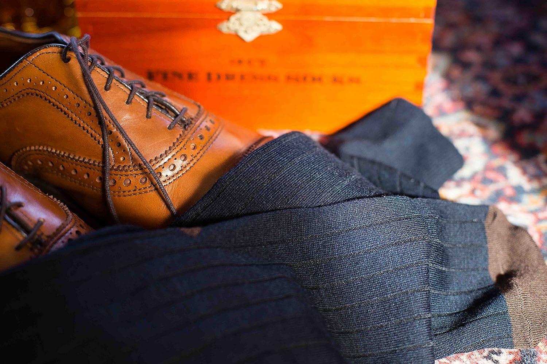 Rayon Blend Black, Navy, Tan, Gray, Brown Easy Match Pattern Fancy Mens Dress Socks