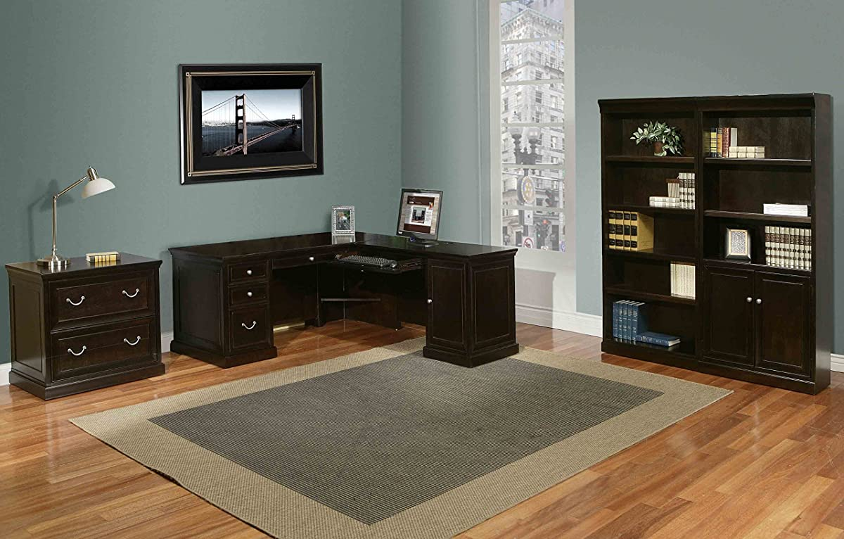 kathy ireland Home by Martin Fulton Lateral File Cabinet - Fully Assembled
