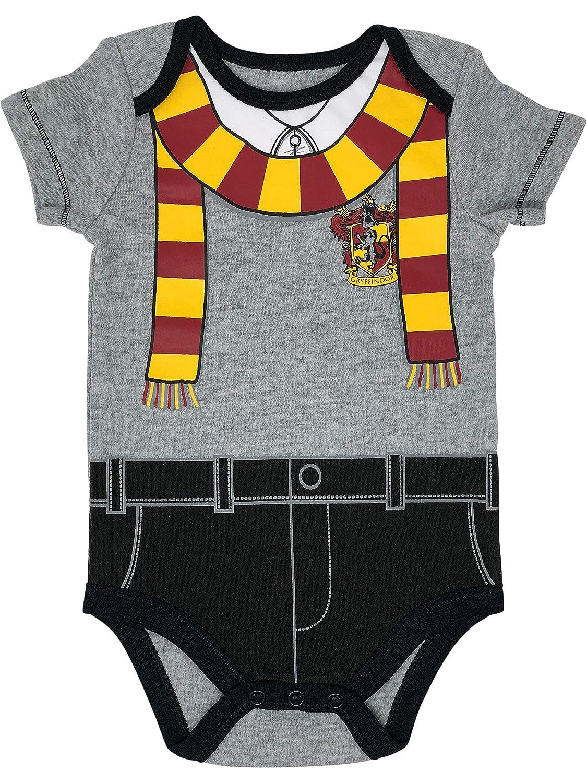 Warner Bros Harry Potter Baby Boys 5-Pack Bodysuits Hogwarts Gryffindor