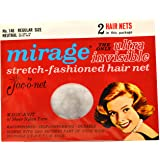 Jac-o-net Mirage Ultra Invisible Hair Net Regular Size * Neutral * No. 146 * 2 Nets Per Package
