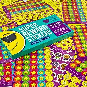 Pack de Pegatinas de Recompensa para Niños y Profesores de Purple ...