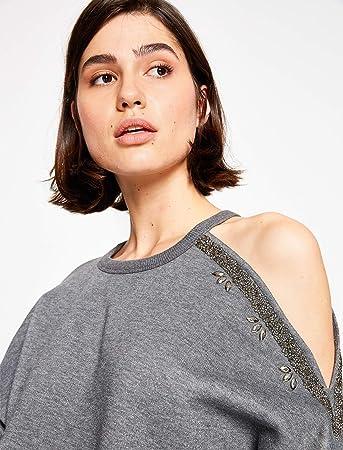 0be7da8b09956 Omuz Detayli Sweatshirt Gri XL: Amazon.com.tr: KOTON