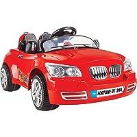 Pilsan Unisex Çocuk Fortune Akülü Araba 12 Volt Kumandali, Kırmızı