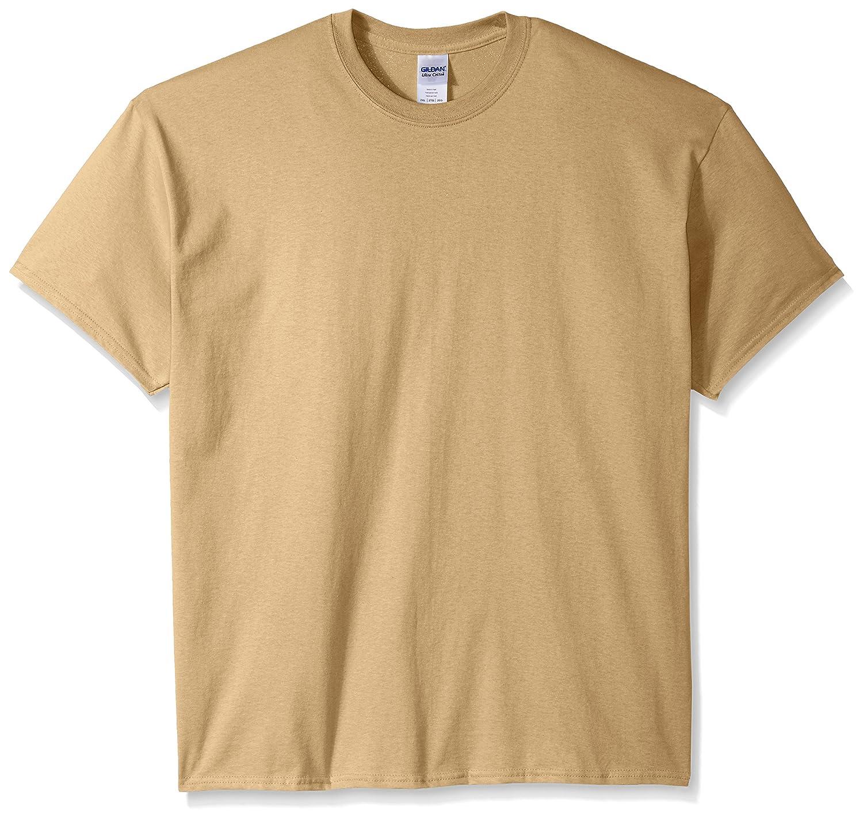 (ギルダン) Gildan メンズ ウルトラコットン クルーネック 半袖Tシャツ トップス 半袖カットソー 定番アイテム 男性用 B00F06DP4M 5L|タン タン 5L