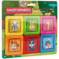 Magnetik Yapı Oyunu MAGFORMERS CARDS PLUS ANIMALS,RNKL