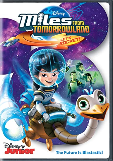 Image result for TV show Miles from Tomorrowland